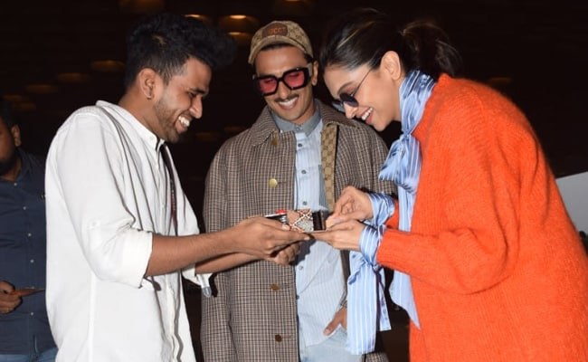 Happy Birthday, Deepika Padukone: The Actress Cuts Cake With Ranveer Singh And Paparazzi At Mumbai Airport