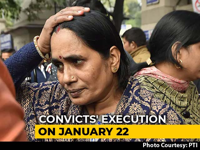 Video : In Court, Convict's Mother Walked To Nirbhaya's Mother And Begged