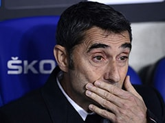 Ernesto Valverde On The Brink As Barcelona Consider Their Options