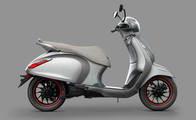 Bajaj Chetak Electric Scooter Design Patented In Europe