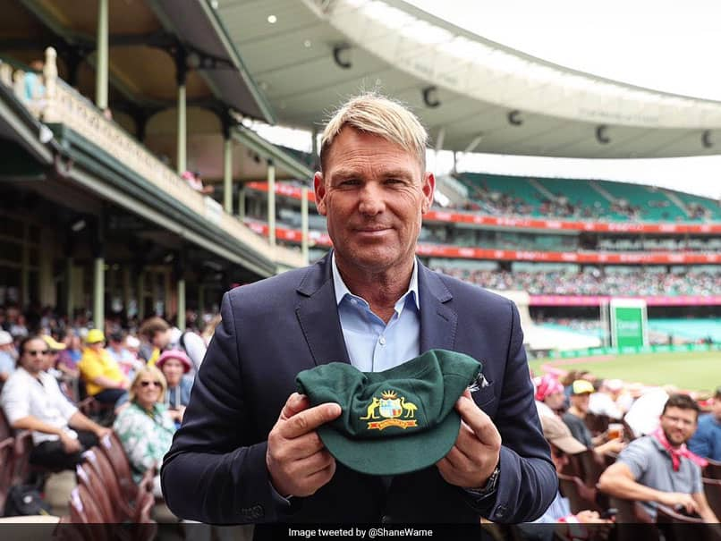 Shane Warne decides to auction his baggy Green for the fire victims