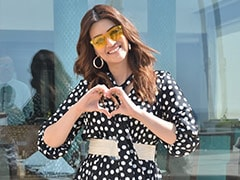 Kriti Sanon Shows Us How To Give Classic Polka Dots A Trendy Twist
