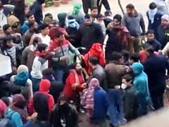 JNU हिंसा का एक और वीडियो सामने आया, हमले की तैयारी का है दृश्य