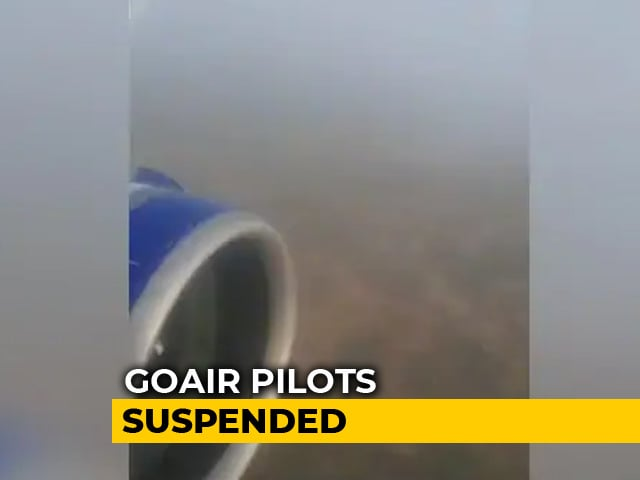 Video : GoAir Pilots Lost Sight Of Runway 50 Feet Above Surface, Landed On Grass