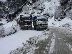 Fresh Snow In Shimla; Manali, Dalhousie Shiver At Sub-Zero Temperatures