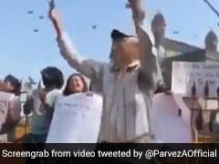 मुंबई में प्रोटेस्ट के दौरान 'आजादी' के नारों पर इन अंकल ने ऐसे झूमकर किया डांस, Video हुआ वायरल