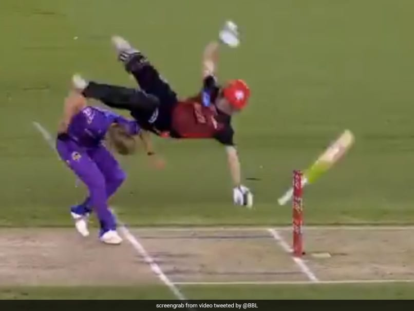 Renegades wicketkeeper out of hospital after freak accident