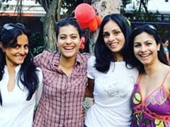 Throwback Thursday: Kajol Shares Pic Of The 'Three <I>Devi</i>s' Of Her Life