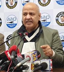 मनीष सिसोदिया का दावा- कांग्रेस-बीजेपी तो मुकाबले में भी नहीं, सभी 70 सीटें जीतेगी AAP