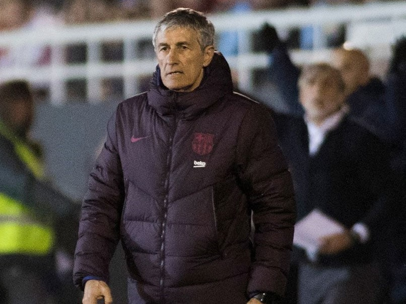 Quique Setien Finding His Feet As Barcelona Look For Lift-Off Against Valencia