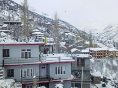 Keylong Coldest In Himachal Pradesh At Minus 11.4 Degrees