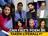Video : Row Over Faiz Ahmad's Poem