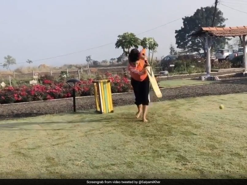 "Watch: Yuvraj Singh Impressed With Saiyami Khers ""Front Foot"" Drive"