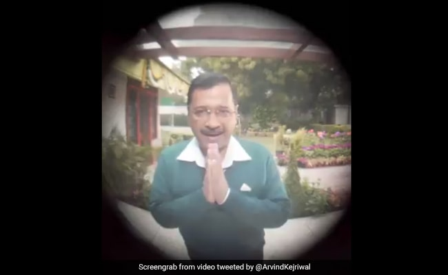 Arvind Kejriwal Launches Fresh Campaign For Delhi Elections