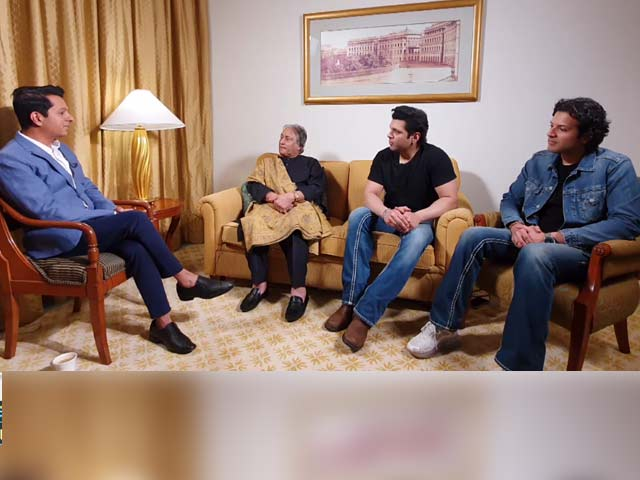 Video : Spotlight On Ustad Amjad Ali Khan, Amaan Ali Bangash and Ayaan Ali Bangash