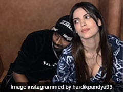 Hardik Pandya Is All Heart For This Adorable Picture With Fiancee Natasa Stankovic