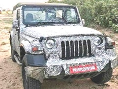 2020 Mahindra Thar Spotted Testing Ahead Of Auto Expo 2020 Unveil