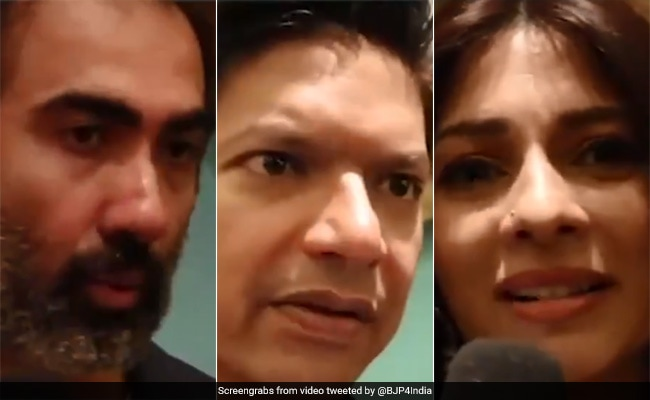 BJP Releases Video With Bollywood Celebs Supporting Citizenship Law