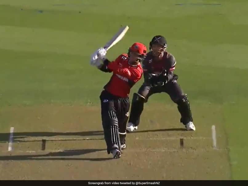 Batsman Does A Yuvraj Singh, Hits 6 Sixes In An Over In New Zealand T20 League. Watch Video