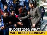 Video : Budget 2020: Economics On Campus With Students