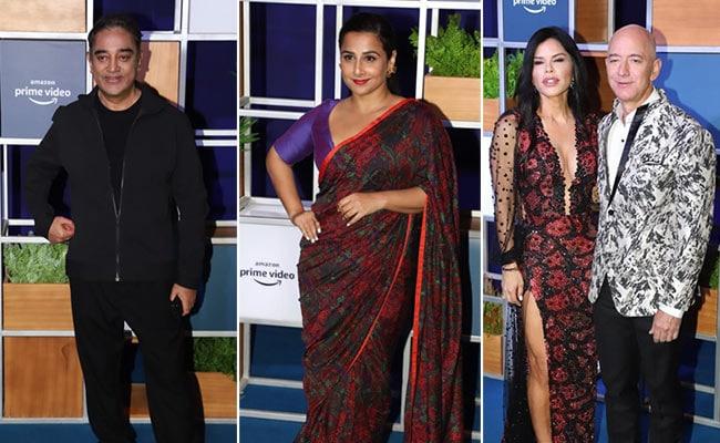 Kamal Haasan, Vidya Balan, Farhan Akhtar And Other Stars Attend Jeff Bezos' Welcome Bash. See Pics