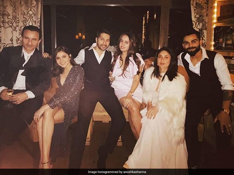Virat Kohli, Anushka Sharma Celebrate New Year With Kareena Kapoor, Saif Ali Khan, Varun Dhawan