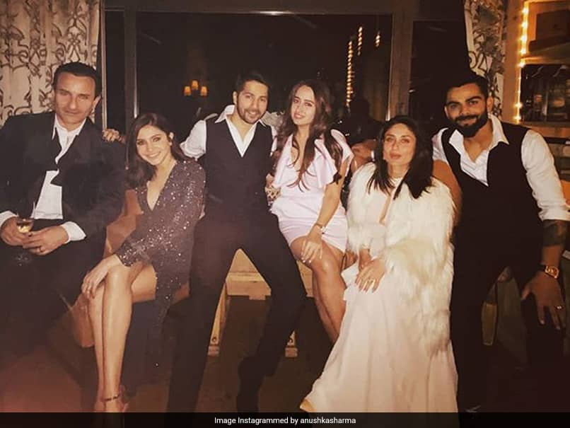 Virat Kohli, Anushka Sharma Celebrate New Year With Kareena Kapoor, Saif Ali Khan, Varun Dhawan