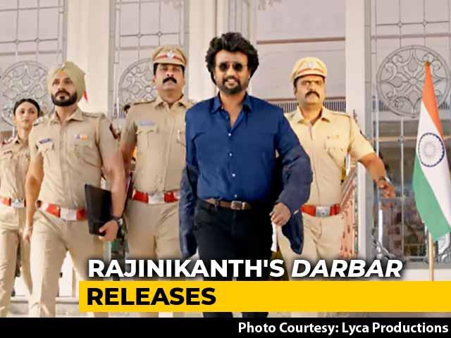 Video : Massive Response To Rajinikanth Starrer <i>Darbar</i> In Chennai