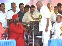 """Not Here To Listen To All This"": BS Yediyurappa's Fury At Seer On Stage"