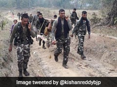 Soldiers Carry Pregnant Woman For 6 Km On Cot In Chhattisgarh