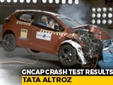 Video : Tata Altroz Gets 5 Stars In Crash Test