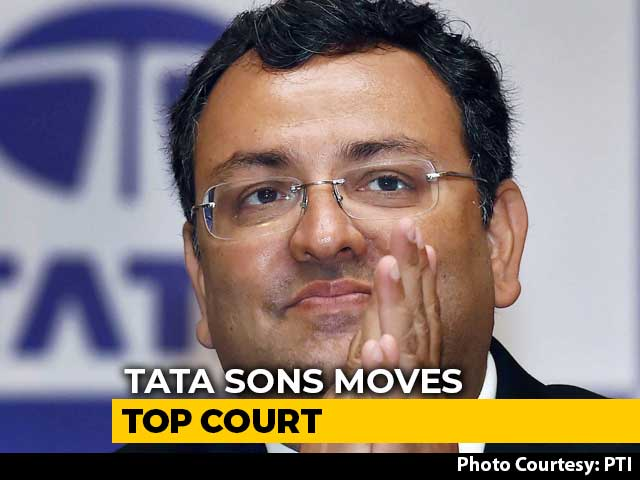 Video : Tata Sons Goes To Supreme Court Over Cyrus Mistry's Reappointment