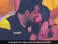 Man Caught On TV Kissing At Football Match Admits To Cheating: Report