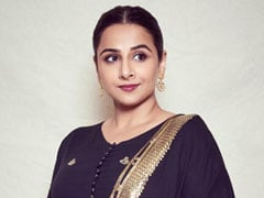 Vidya Balan Proves That A Chic Black <i>Sharara</i> Suit Is Bound To Be A Hit