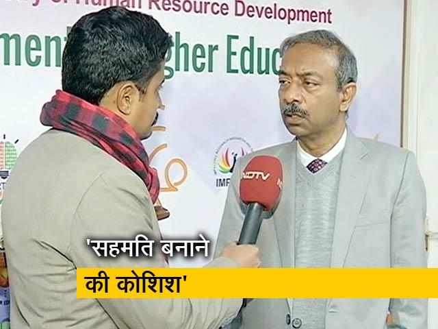 Videos : JNU मामला: मानव संसाधन मंत्रालय के सचिव अमित खरे से NDTV की खास बातचीत