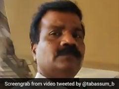 """I'm Vikrant Chavan, Corporator"": Congress Leader's Rant Caught On Camera"