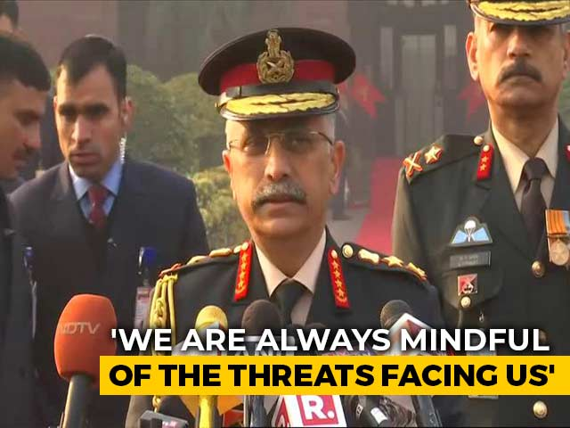 "Video : Army Chief Talks Of ""Eventual Solution"" On China Border Issue"