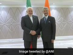 Iran Foreign Minister Meets S Jaishankar, Talks About Tensions In Gulf
