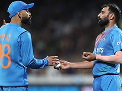 """Thought We Were Gone"": Virat Kohli Credits Mohammed Shami For Keeping India Alive In 3rd T20I"