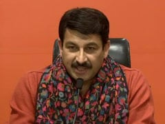 """BJP Didn't Blame Voting Machines In Jharkhand"": Manoj Tiwari Attacks AAP"
