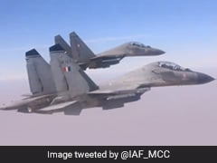 Watch: Sukhoi-30s, Rafale Take To Skies In Air Force's New Year Video
