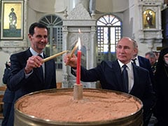 Vladimir Putin Makes Rare Visit To Syria, Meets Bashar al-Assad