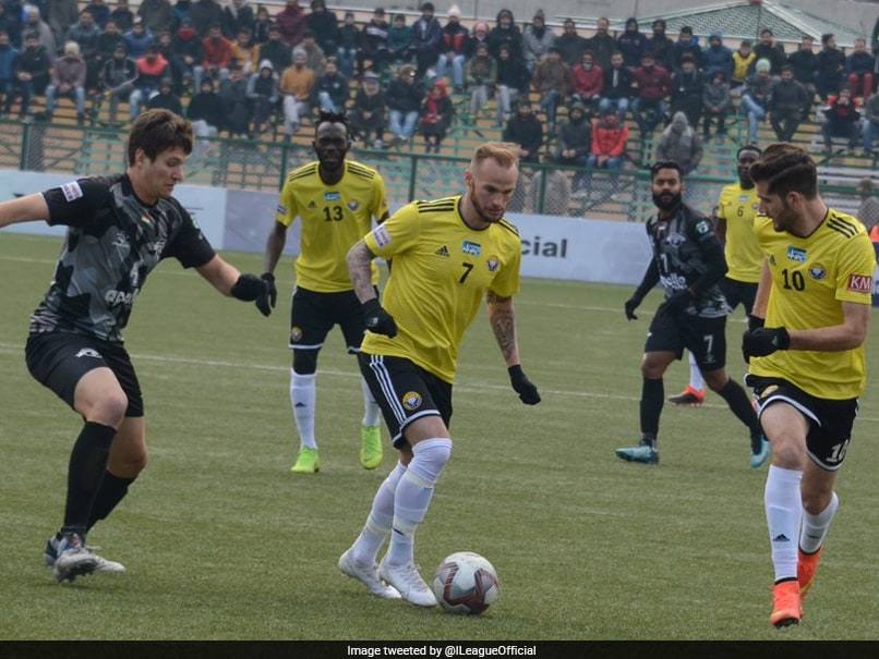 I-League: Real Kashmir FC Hold Punjab FC To 1-1 Draw At Home