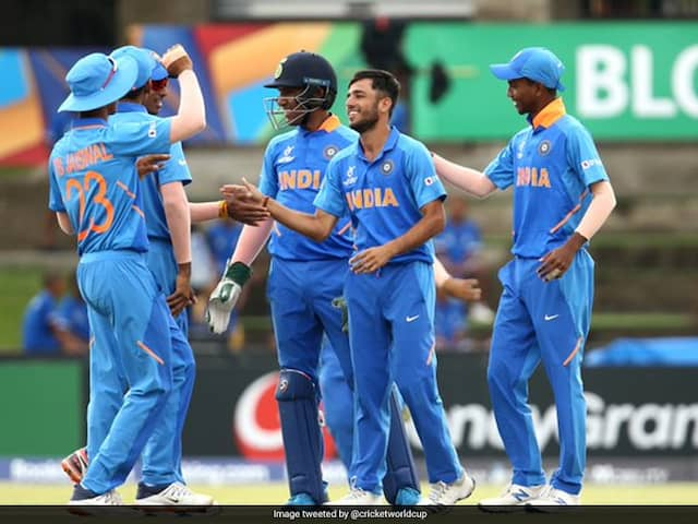 India Beat New Zealand To Set Up U-19 World Cup Quarter-Final Clash With Australia
