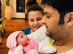 First Pics - Kapil Sharma, Ginni Chatrath Introduce Daughter Anayra: 'Meet Our Piece Of Heart'