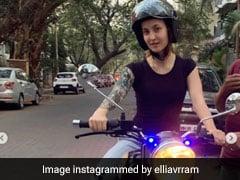 सलमान खान की इस एक्ट्रेस ने सिर्फ 3 दिन में सीखी Bike, Video में देखें कैसे दौड़ाई बुलेट