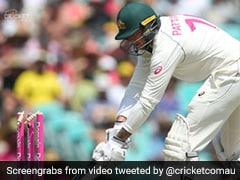 """You've Got To Be Kidding"": Watch James Pattinson's Bizarre Dismissal In Sydney Test"
