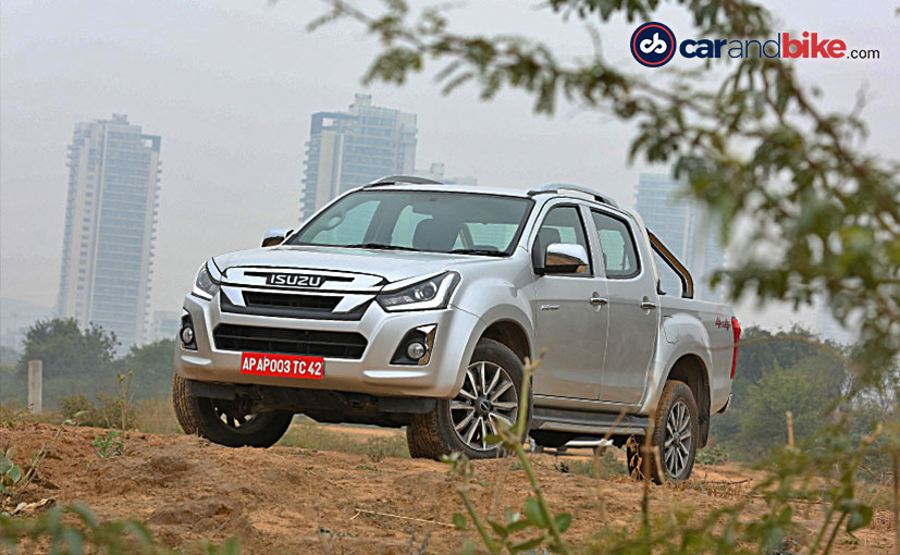 The Isuzu D-Max V-Cross Automatic was launched in India in August 2019.