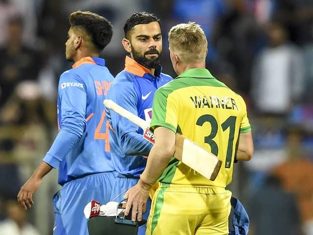 IND vs AUS 1st ODI: David Warner, Aaron Finch set record books on fire in Mumbai vs India