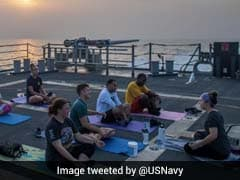 What The US Navy Tweeted About Yoga